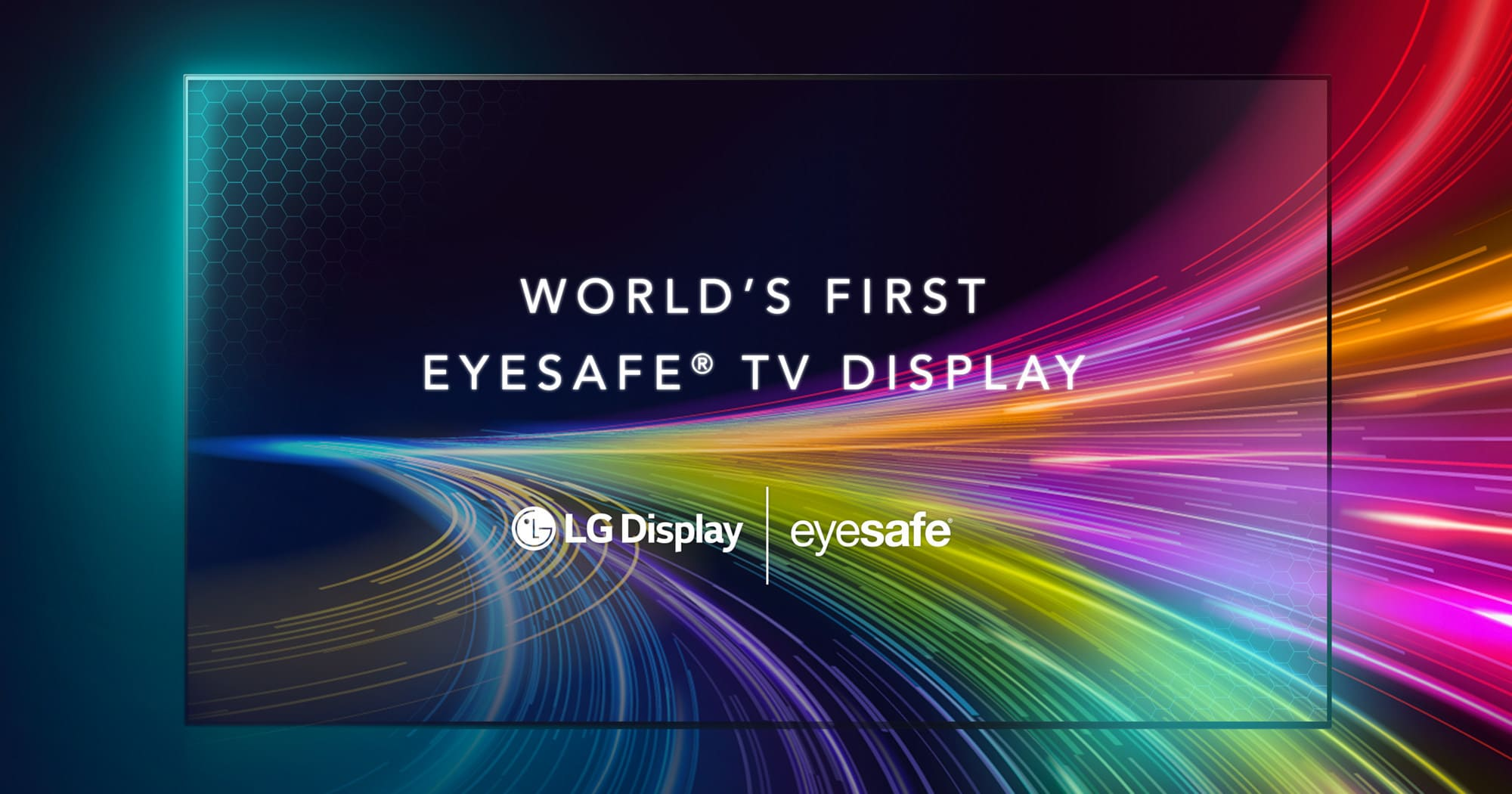 LG Display Announces the World's First Eyesafe® Certified TV Display