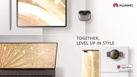 Huawei AI Seamless Life Integration Concept