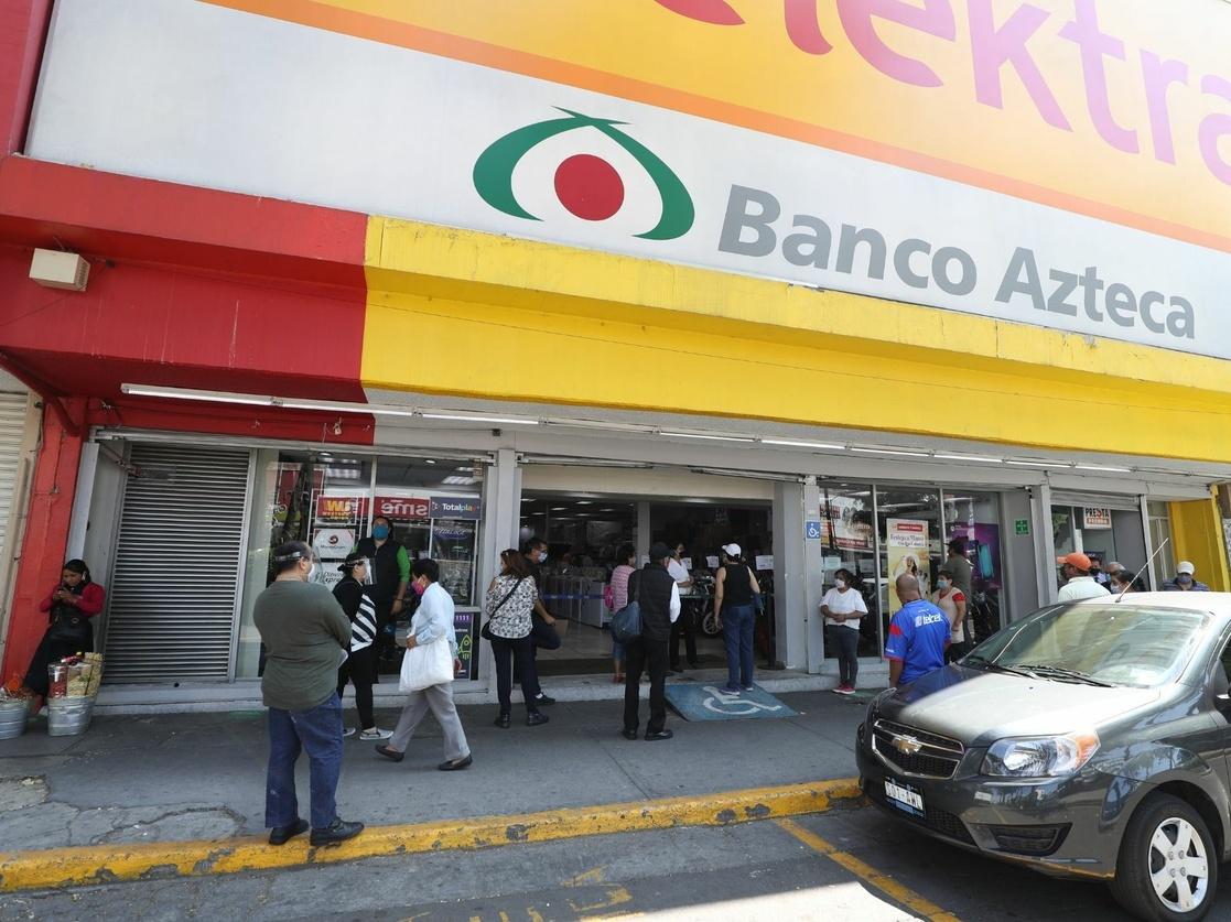 Conceden suspensión a Elektra y Banco Azteca contra pruebas Covid-19