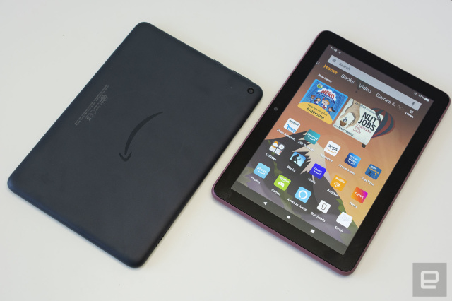 Amazon's Fire HD 8 tablets are $30 off right now