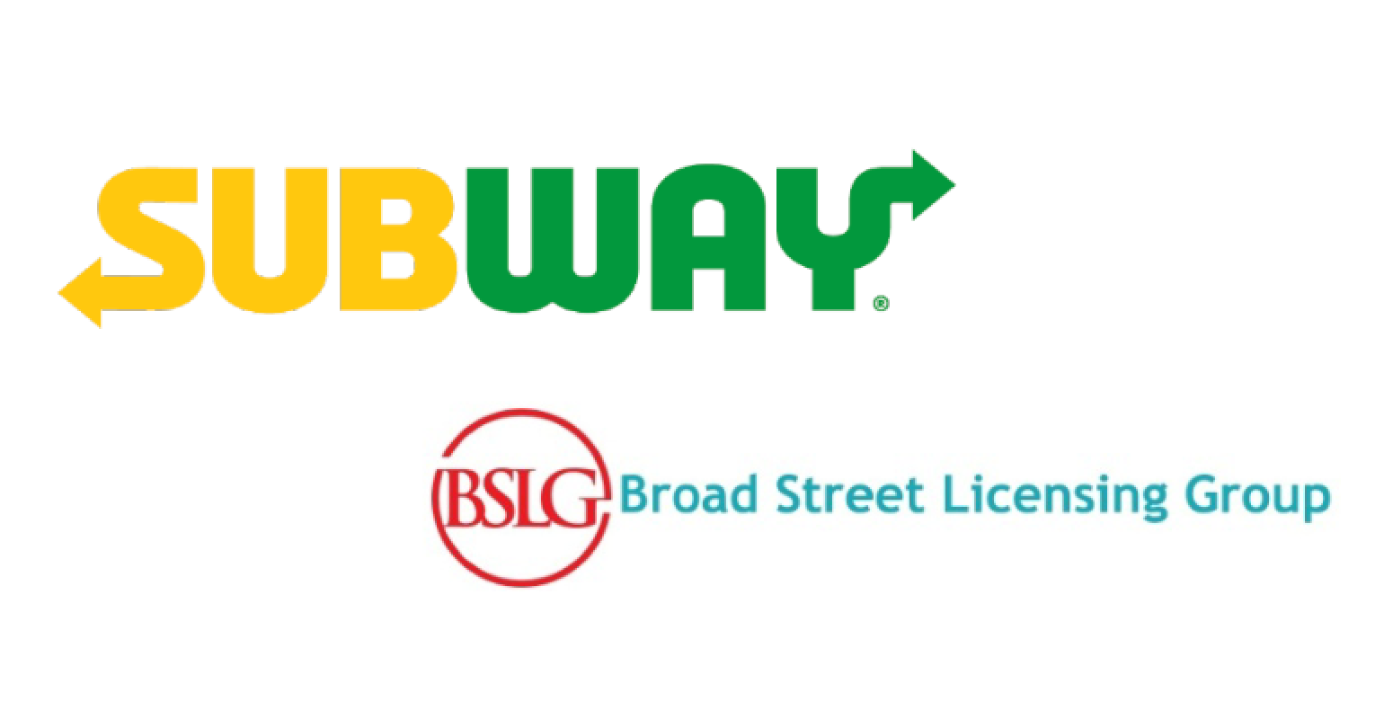 Subway Restaurants to Deliver Consumer Products with Broad Street Licensing